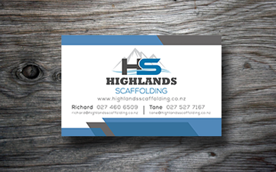 Highlands Business Card